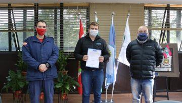 Assinada Ordem de Serviço para obra em Videira